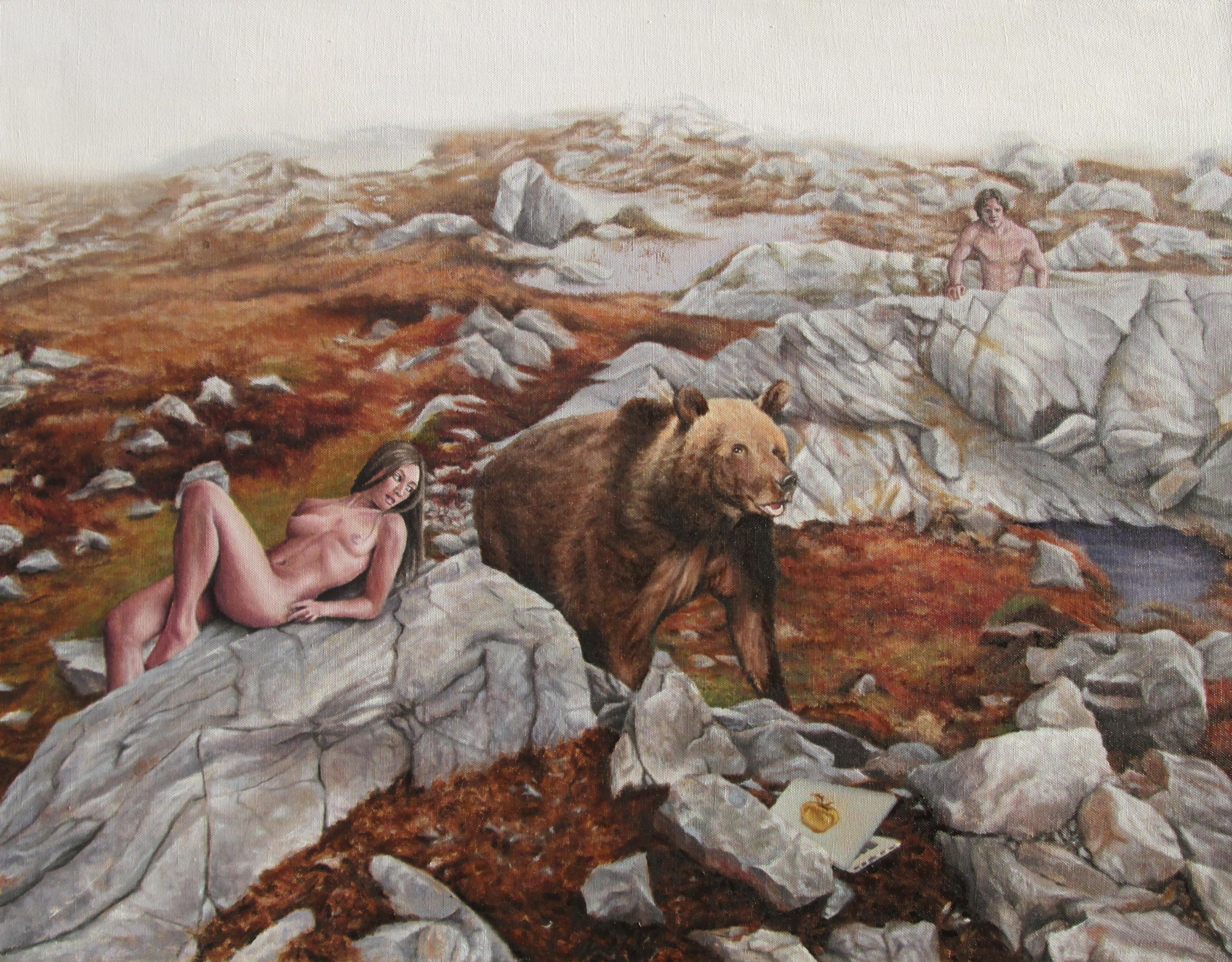 Z Gallerie Moose Head Atalanta's Prize, Oi...